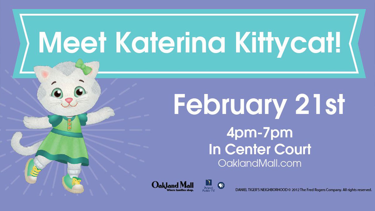 Katerina Kittycat at Oakland Mall - February 21
