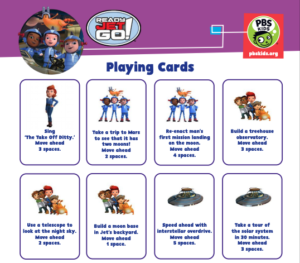 playing cards image for ready jet go game