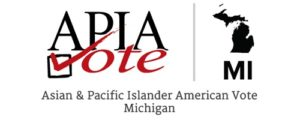 APIA Vote Michigan - Asian and Pacific Islander American Vote Michigan (logo)