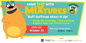 detroit pbs kids ruff ruffman virtual event image