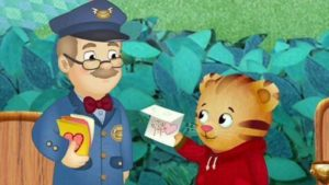 daniel tiger with mr. mcfeely